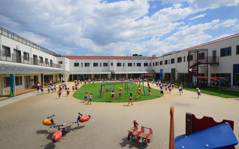 川越白ゆり幼稚園の園舎